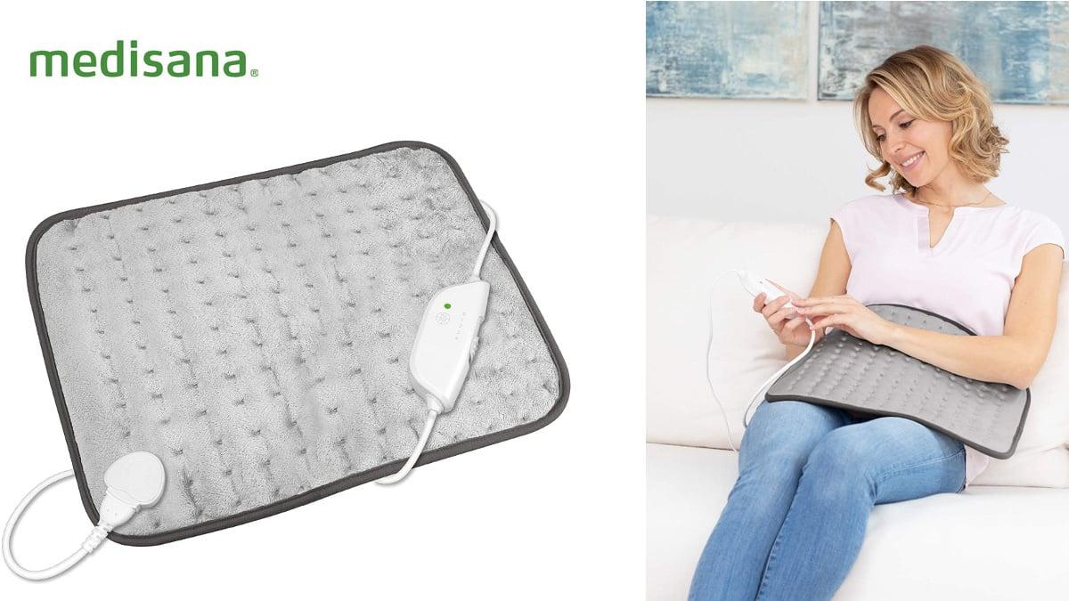 Almohada eléctrica Medisana HP 650 XL, almohadas eléctricas de marca baratas, ofertas salud, chollo