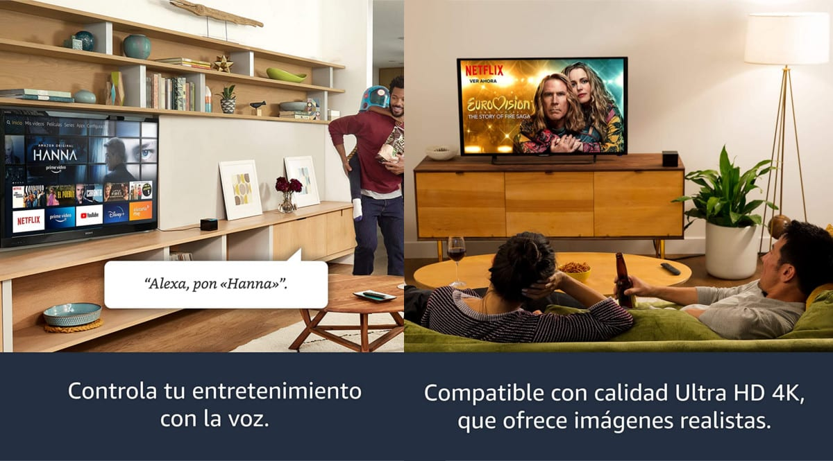 Amazon Fire TV Cube barato. Ofertas en reproductores multimedia, reproductores multimedia baratos, chollo