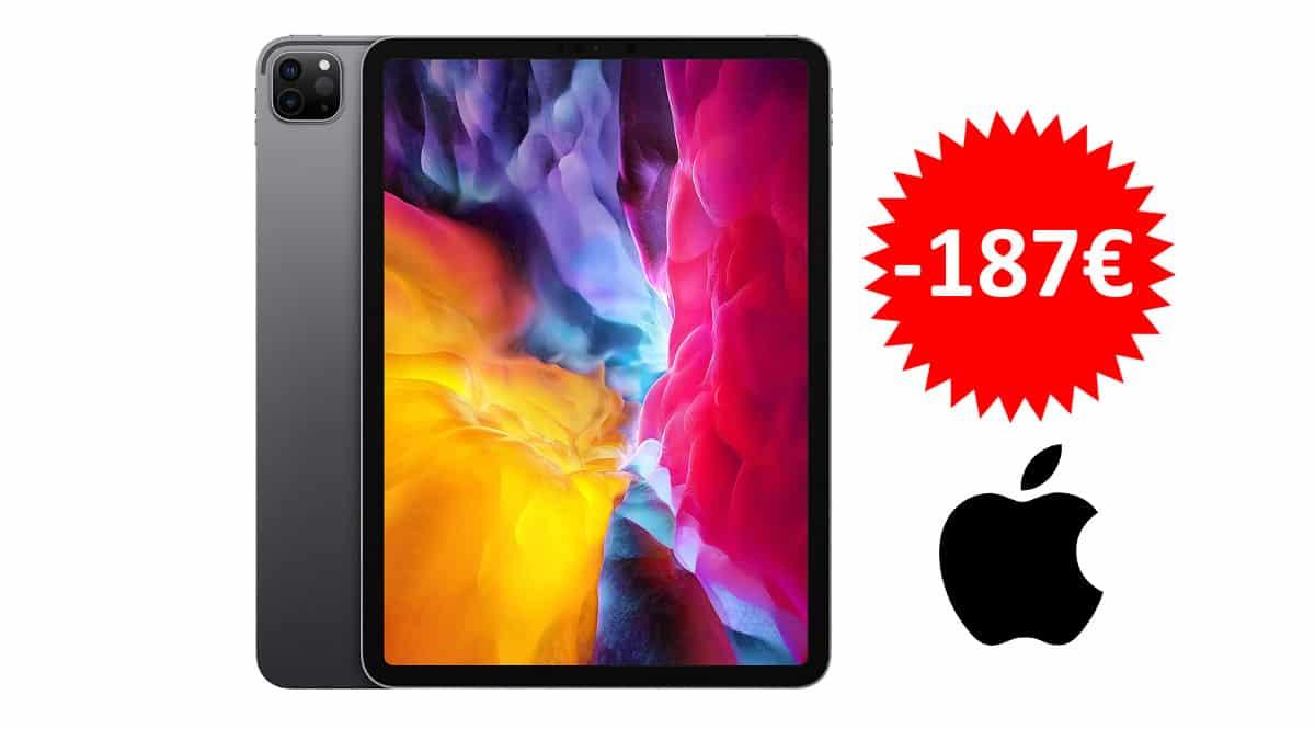 ¡¡Chollo!! Apple iPad Pro 11 (2020) 128GB WiFi sólo 692 euros. Ahórrate 187 euros.