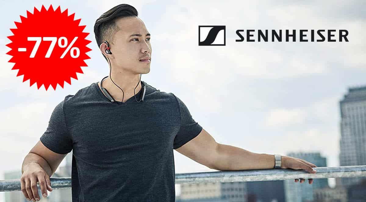 Auriculares inalámbricos Sennheiser IE 80S BT baratos, ofertas en auriculares inalámbricos, auriculares inalámbricos baratos, chollo