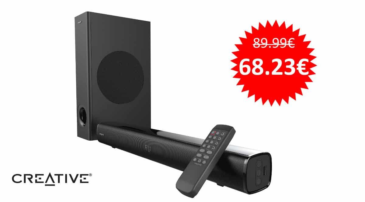 Barra de sonido 2.1 Bluetooth Creative Stage barata. Ofertas en barras de sonido, barras de sonido baratas, chollo