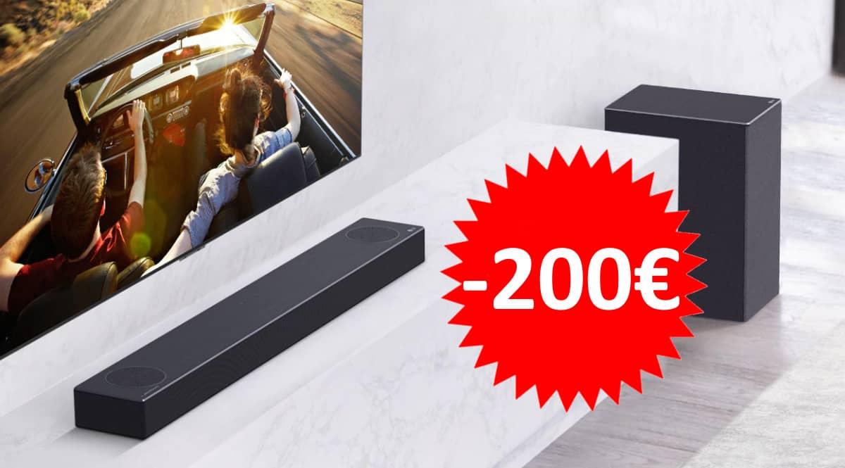 Barra de sonido LG SN7Y barata.Ofertas en barras de sonido, barras de sonido baratas, chollo
