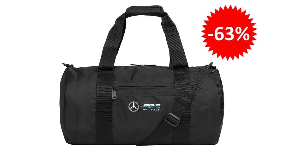 Bolsa Mercedes AMG Petronas barata, bolsa de deporte barata, ofertas en equipaje chollo1