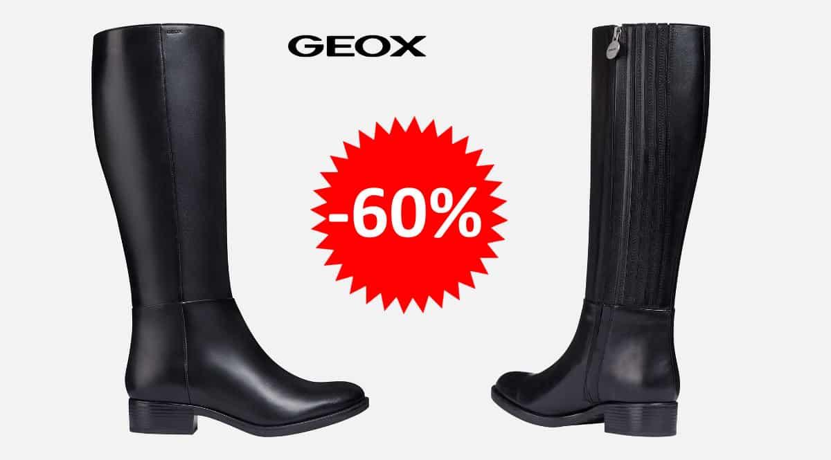 ¡¡Chollo!! Botas Geox D Felicity D sólo 62 euros. 60% de descuento.