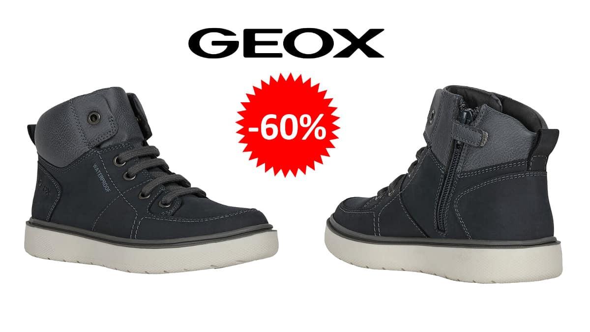 Botas Geox Riddock para niño baratas, calzado de marca barato, ofertas para niños chollo