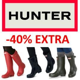 Botas Hunter baratas, calzado de marca barato, ofertas en calzado