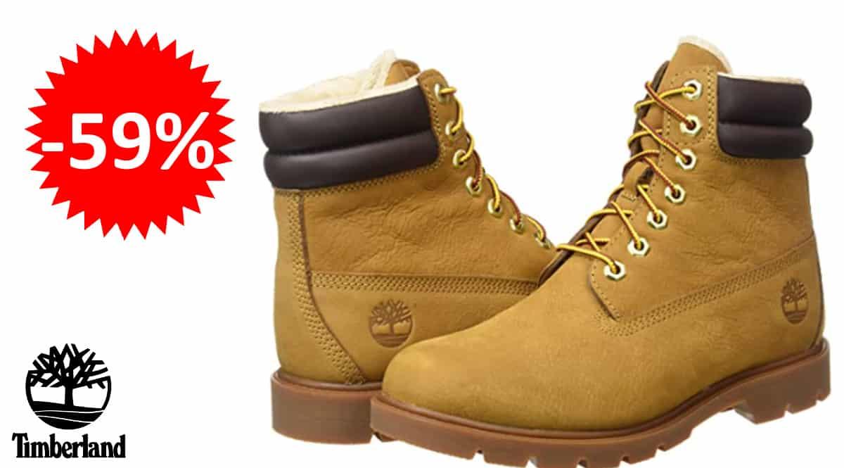 Botas para hombre Timberland 6 Inch Basic baratas, botas de marca baratas, ofertas en calzado, chollo