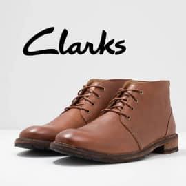 Botines Clarks Clarkdale Base baratos, calzado de marca barato, ofertas en calzado