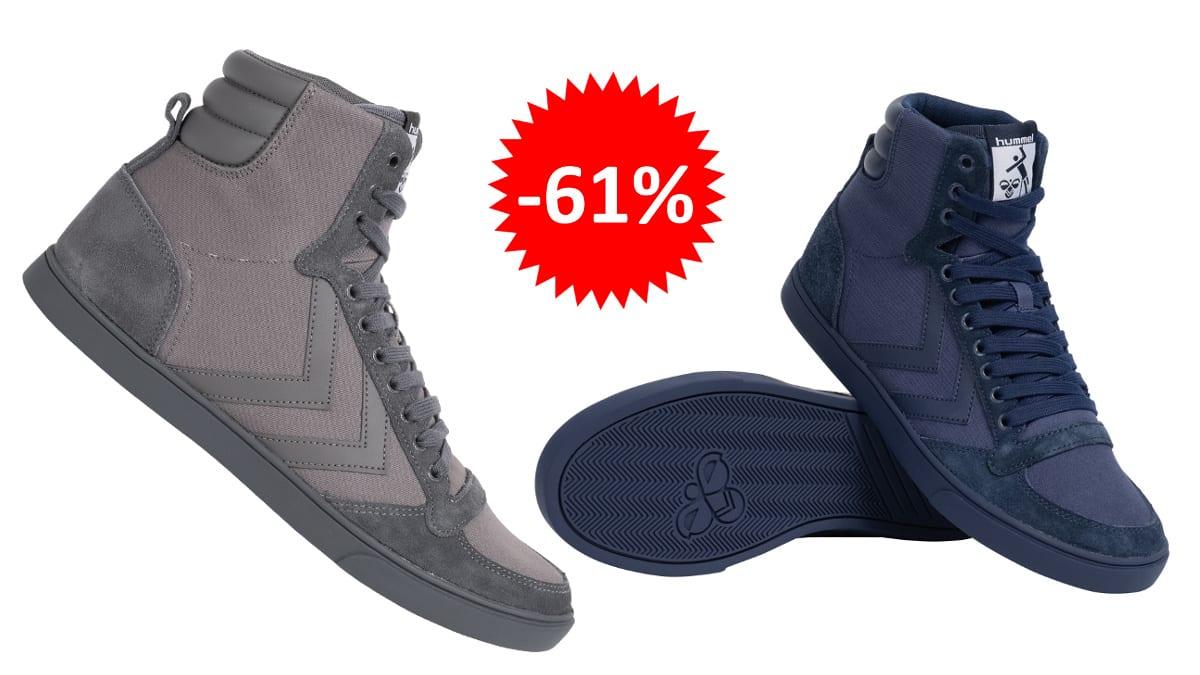Botines Hummel Slimmer baratos, calzado de marca barato, ofertas en zapatillas chollo