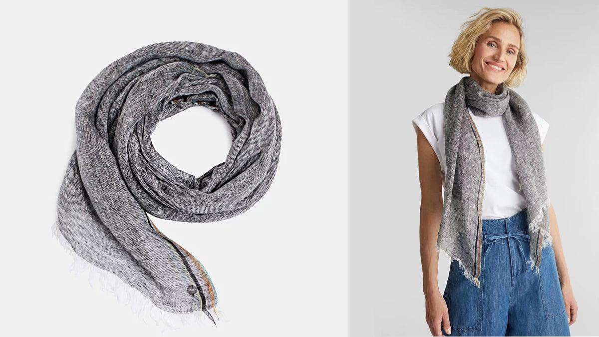 Bufanda Esprit barata, bufandas de marca baratas, ofertas en ropa, chollo