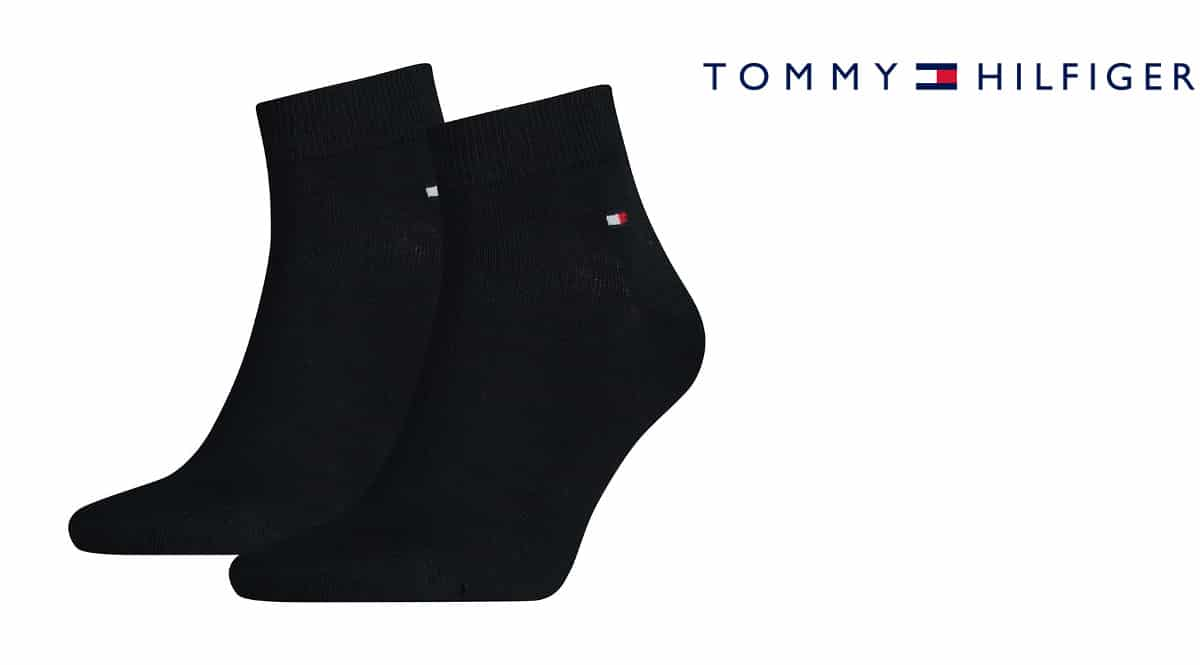 Calcetines tobilleros Tommy Hilfiger baratos, calcetines de marca baratos, ofertas en ropa, chollo
