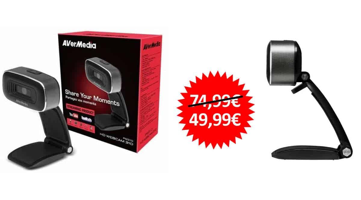 Cámara web AVerMedia HD Webcam 310 barata, ofertas en webcams, webcams baratas, chollo