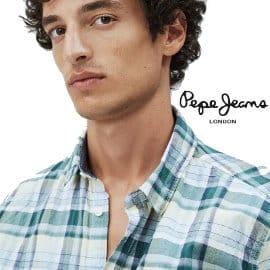 Camisa Pepe Jeans Brookthorpe barata, ropa de marca barata, ofertas en camisas