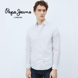Camisa Pepe Jeans Edmonton barata, camisas de marca baratas, ofertas en ropa