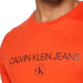 Camiseta Calvin Klein Archive Logo barata, ropa de marca barata, ofertas en camisetas