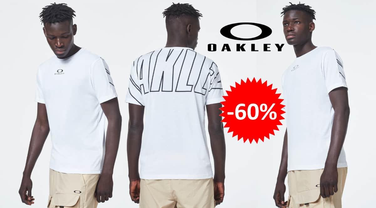 Camiseta Oakley Enhance QD barata, ropa de marca barata, ofertas en camisetas chollo