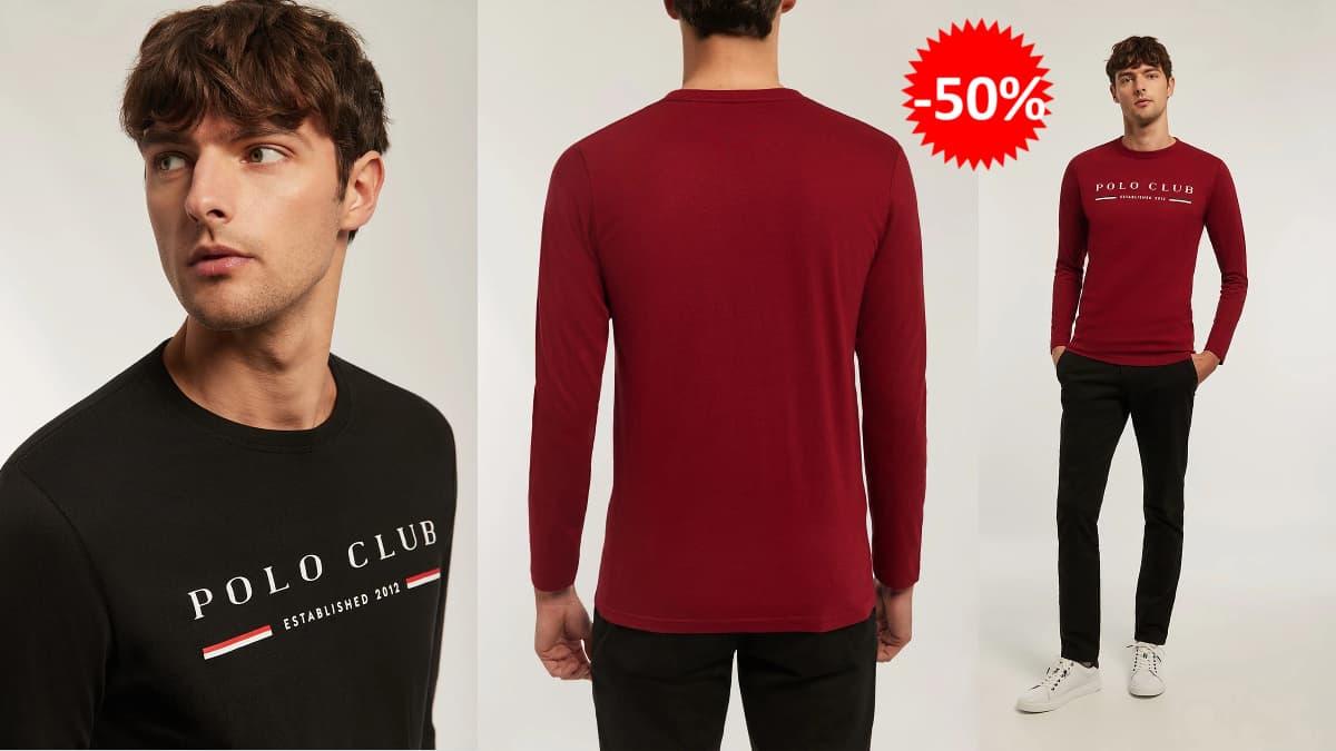Camiseta polo Club Title barata, camisetas de marca baratas, ofertas en ropa, chollo