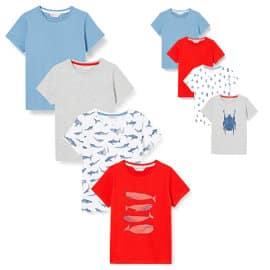 Camisetas Red Wagon para niño baratas, camisetas de marcca baratas, ofertas en ropa para niño