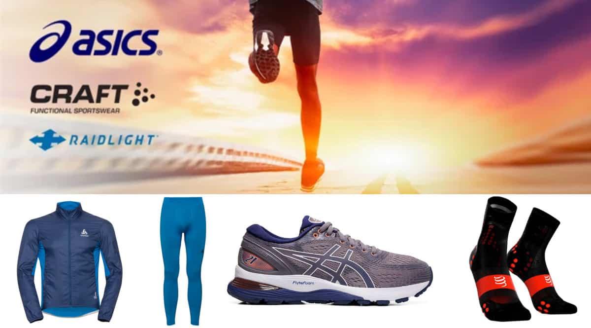 Campaña de Asics y Odlo en Private Sport Shop. Ofertas en ropa de marca, ropa de marca barata, chollo