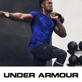 Campaña de ropa y calzado Under Armour.