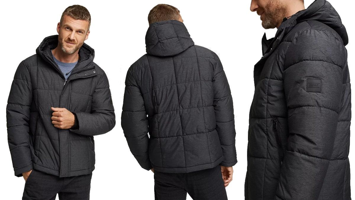 Cazadora acolchada Esprit barata, ropa de marca barata, ofertas en chaquetas chollo