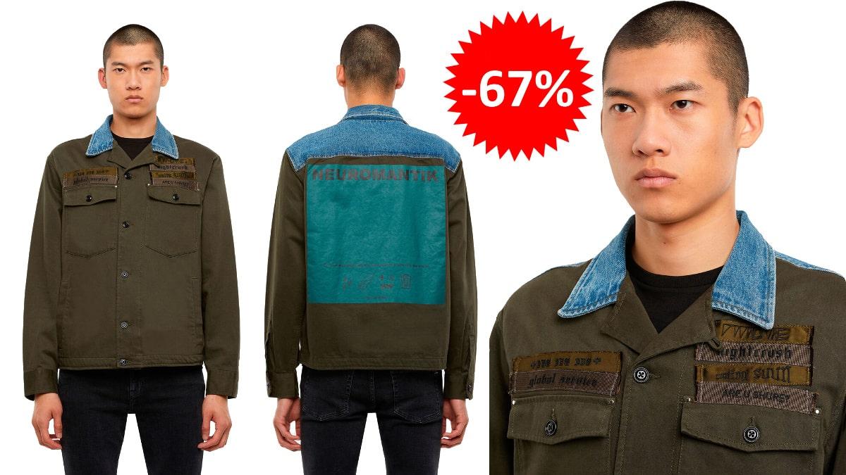 Chaqueta Diesel S-Covil barata, ropa de marca barata, ofertas en chaquetas chollo