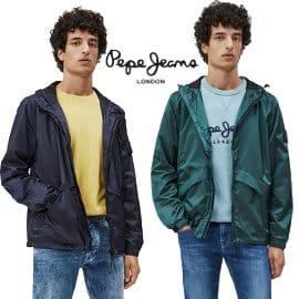 Chaqueta cortavientos Pepe Jeans Alton barata, ropa de marca barata, ofertas en chaquetas