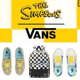 Colección The Simpsons x Vans barata, ropa de marca barata, ofertas en calzado