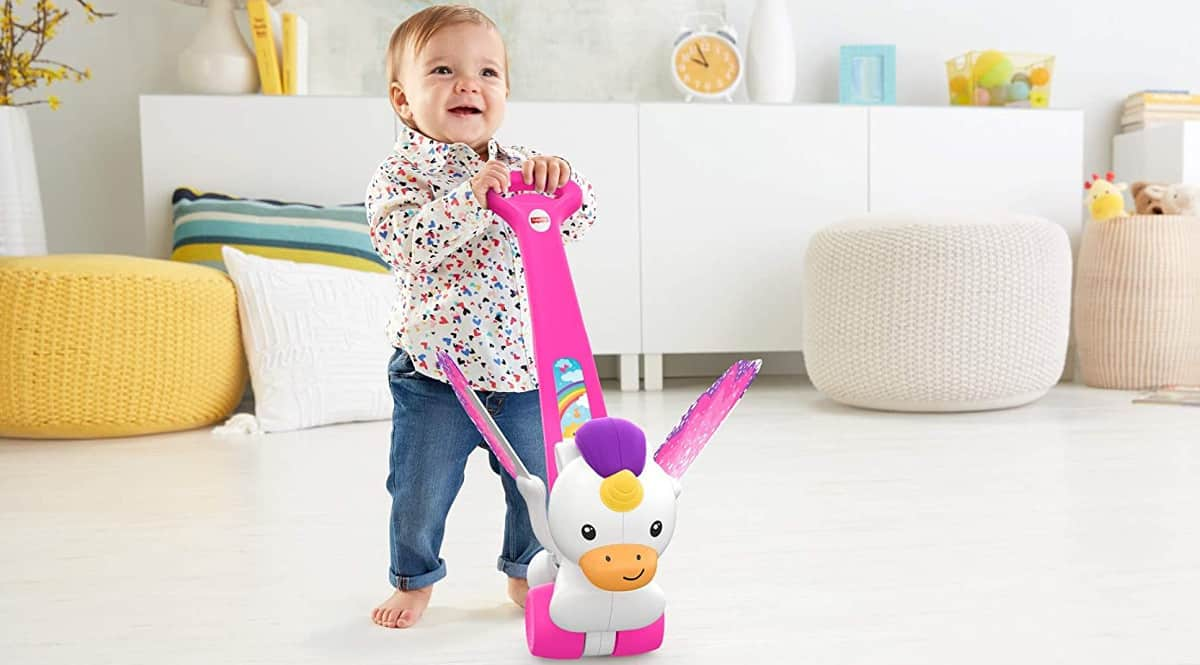 Correpasillos Fisher Price Unicornio.