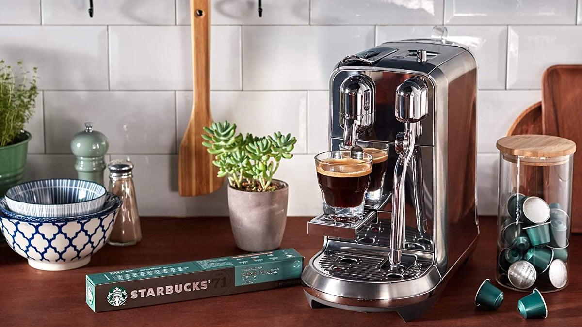 Cápsulas Starbucks Pike Place Roast De Nespresso baratas, capsulas de café de marca baratas, ofertas supermercado, chollo