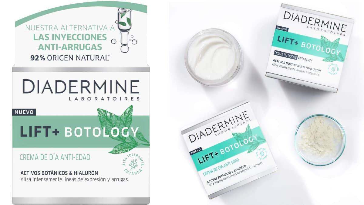 Crema Diadermine Lift+ Botology barata, cremas de marca baratas, ofertas belleza, chollo