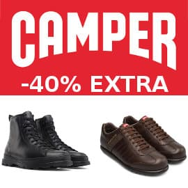 Descuento EXTRA Camper, calzado de marca barato, ofertas en calzado