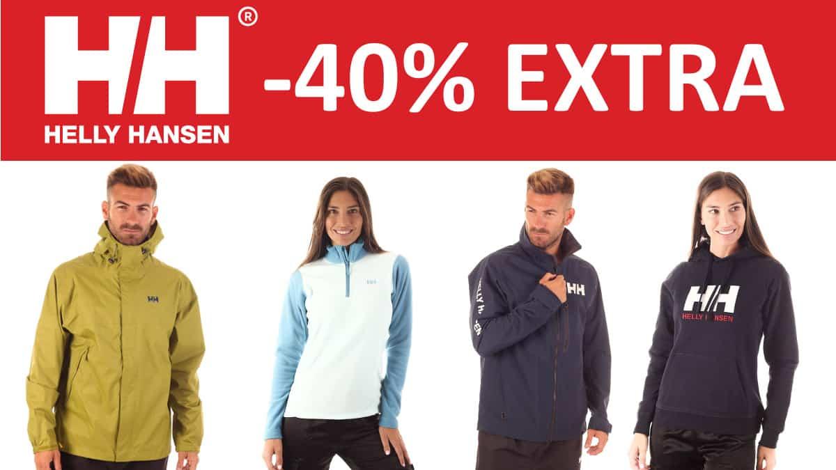 Descuento EXTRA en Helly Hansen, ropa de marca barata, ofertas en calzado chollo