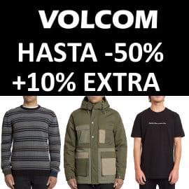 Descuento EXTRA rebajas de Volcom, ropa de marca barata, ofertas en calzado