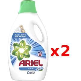 Detergente líquido Ariel Alpes barato, detergente para la ropa barato, ofertas supermercado