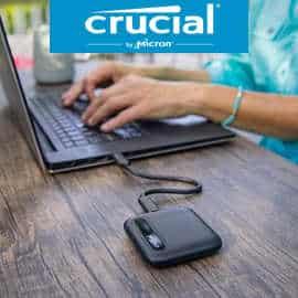 Disco SSD portátil Crucial X6 2TB barato, ofertas en discos SSD, discos SSD baratos