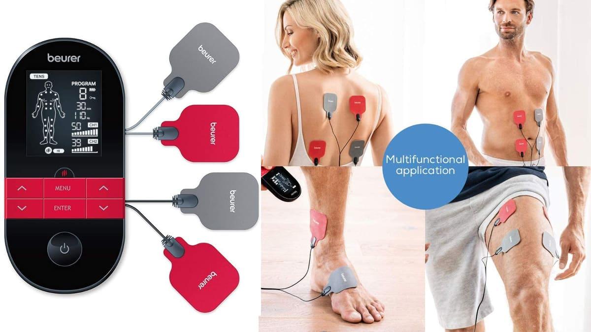Electroestimulador Beurer EM59 barato, electroestimuladores de marca baratos, ofertas salud y cuidado personal