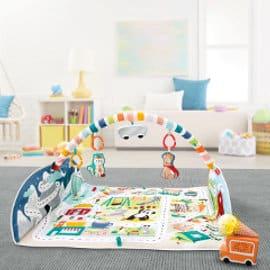 Gimnasio Activity City Fisher Price barato, gimnasio para bebé barato, ofertas para niños