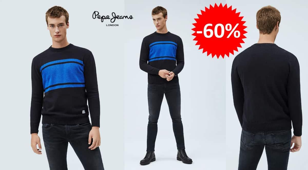 Jersey Pepe Jeans Cristof barato, jerséis de marca baratos, ofertas en ropa, chollo