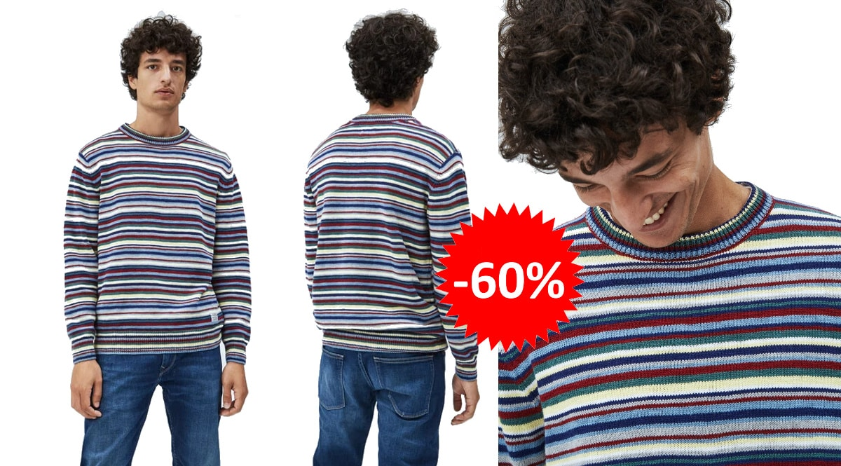 Jersey Pepe Jeans Darren barato, ropa de marca barata, ofertas en jerseis chollo