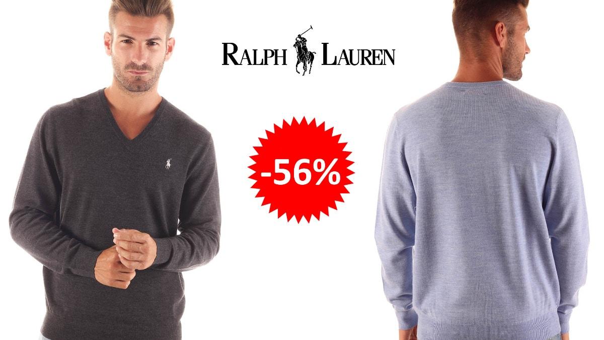 Jersey de lana Ralph Lauren barato, ropa de marca barata, ofertas en jerseis chollo1