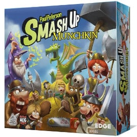 ¡Precio mínimo histórico! Juego de cartas Smash Up Munchkin sólo 13.68 euros. 61% de descuento.