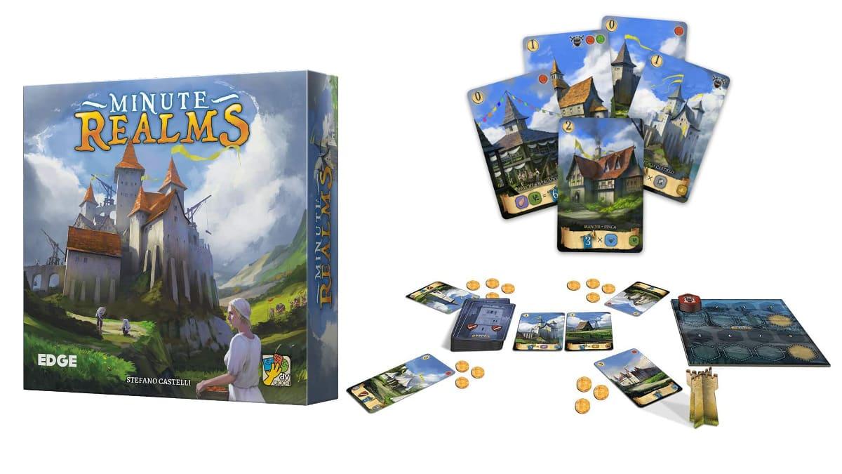 Juego de mesa Edge Entertainment Minute Realms barato, juegos baratos, ofertas en juegos de mesa chollo