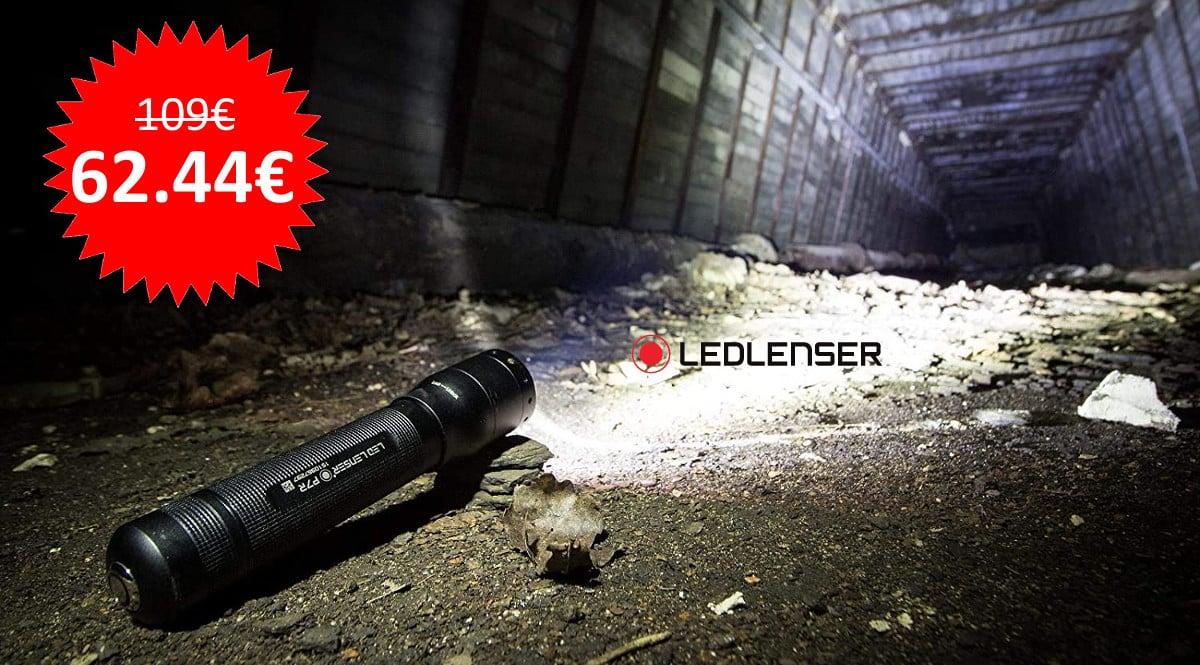 ¡¡Chollo!! Linterna recargable Led Lenser P7R 1000lm sólo 62 euros. Te ahorras 47 euros.