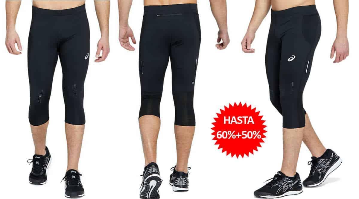 Mallas de running Asics Offroad Knee Tight baratas, ofertas en mallas de running, mallas de running baratas, chollo