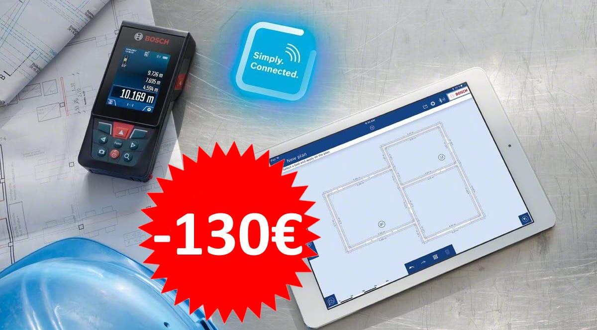 Medidor láser Bosch GLM 120 C barato.Ofertas en herramientas, herramientas baratas, chollo