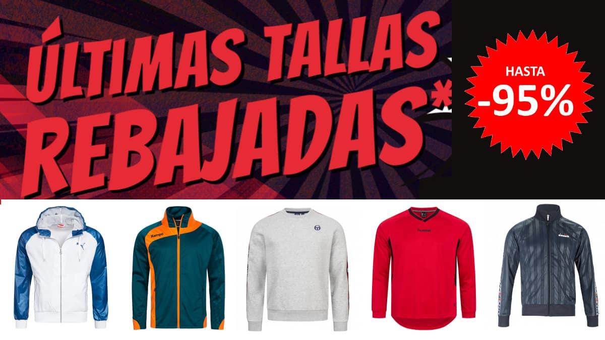 Mega Rebajas Deporte Outlet, ropa de marca barata, ofertas en material deportivo chollo