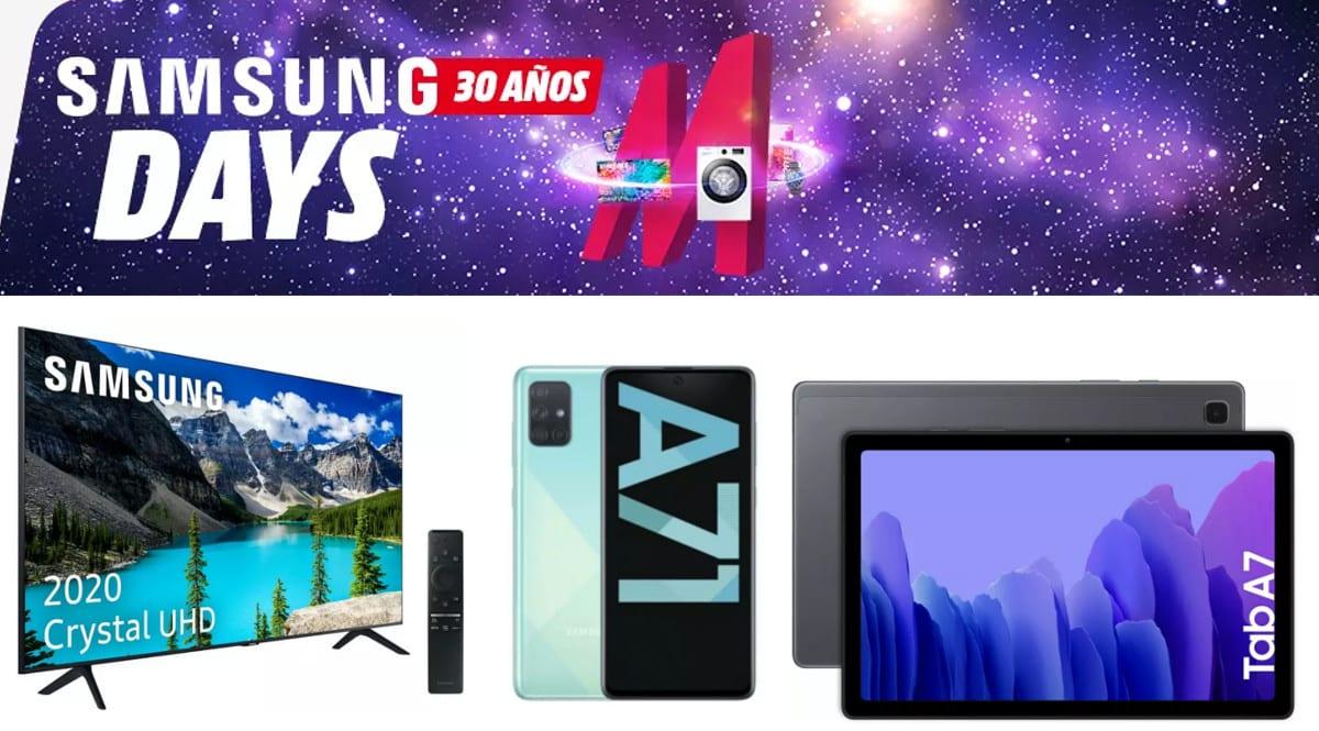Mejores ofertas de Samsung Days de MediaMarkt. Ofertas en MediaMarkt, chollo