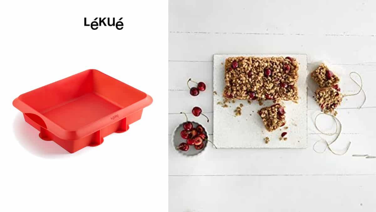 Molde Lékué Lasagna barato, moldes de marca baratos, ofertas cocina, chollo