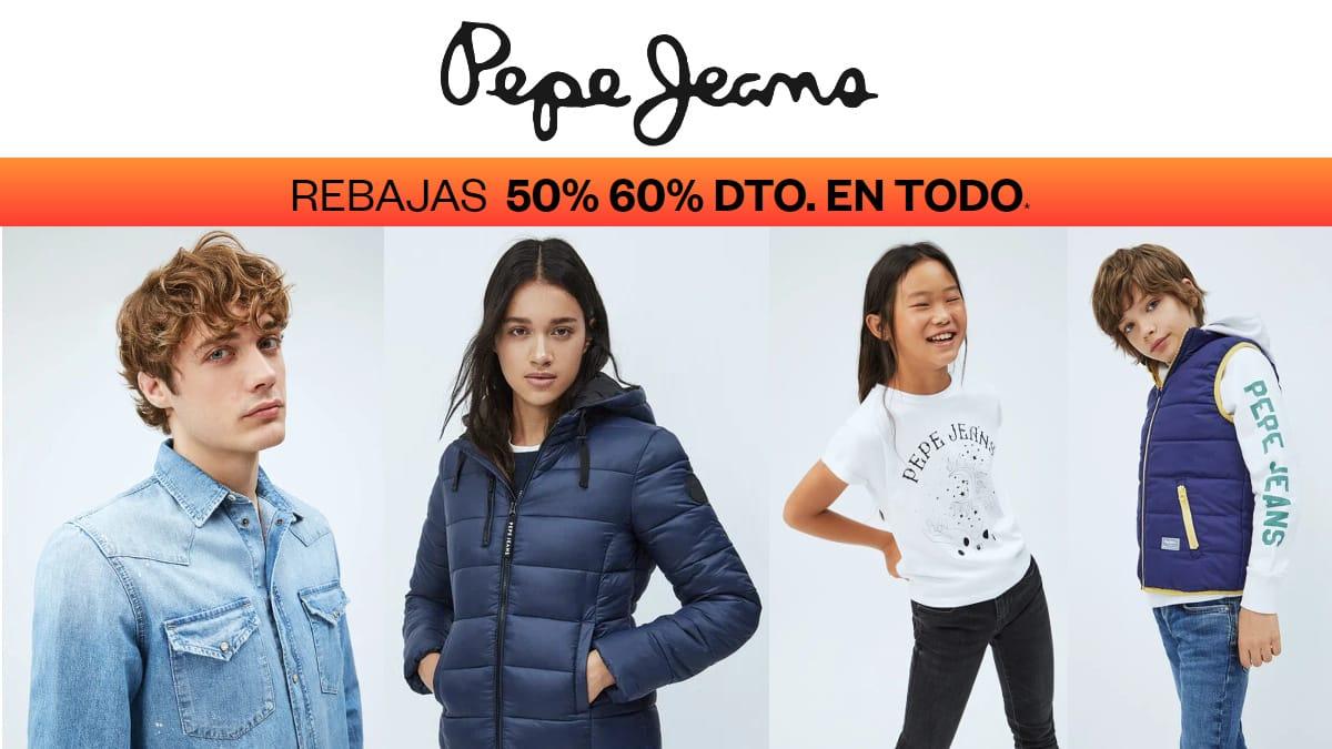 Ofertas Pepe Jeans, ropa de marca barata, ofertas en calzado chollo